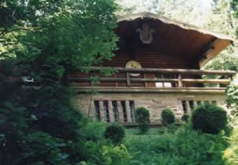Die Concordia Hütte am Bocksberg in Neckarwimmersbach