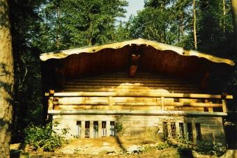 Blick auf die erste Concordia Hütte
