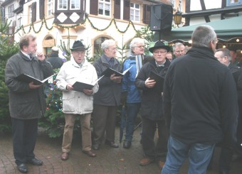 MGV Singen beim Advent Winterwald Dez. 2010
