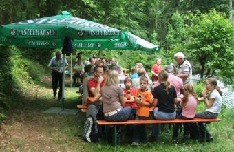 MGV Waldfest 2009 an der Concordia Hütte