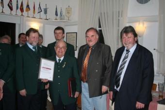 60 Jahre aktives Mitglied - Heinz Fischer