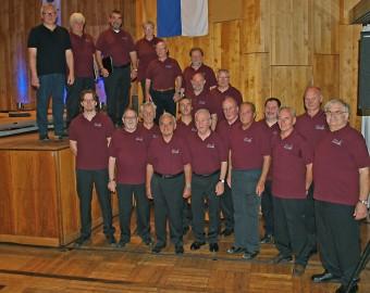 Die aktiven Sänger im 125 jährigen Jubiläumsjahr 2013
